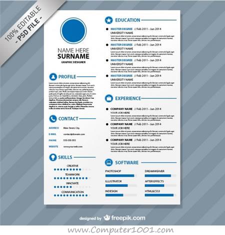 Format Resume Yang Menarik