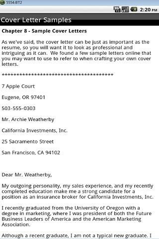 Cover Letter Sample Jobsdb