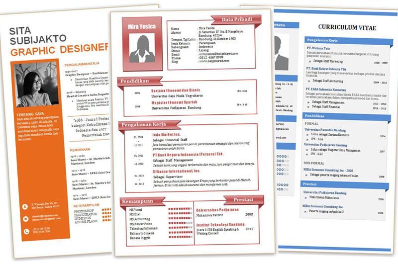 Format Resume Yang Terbaik