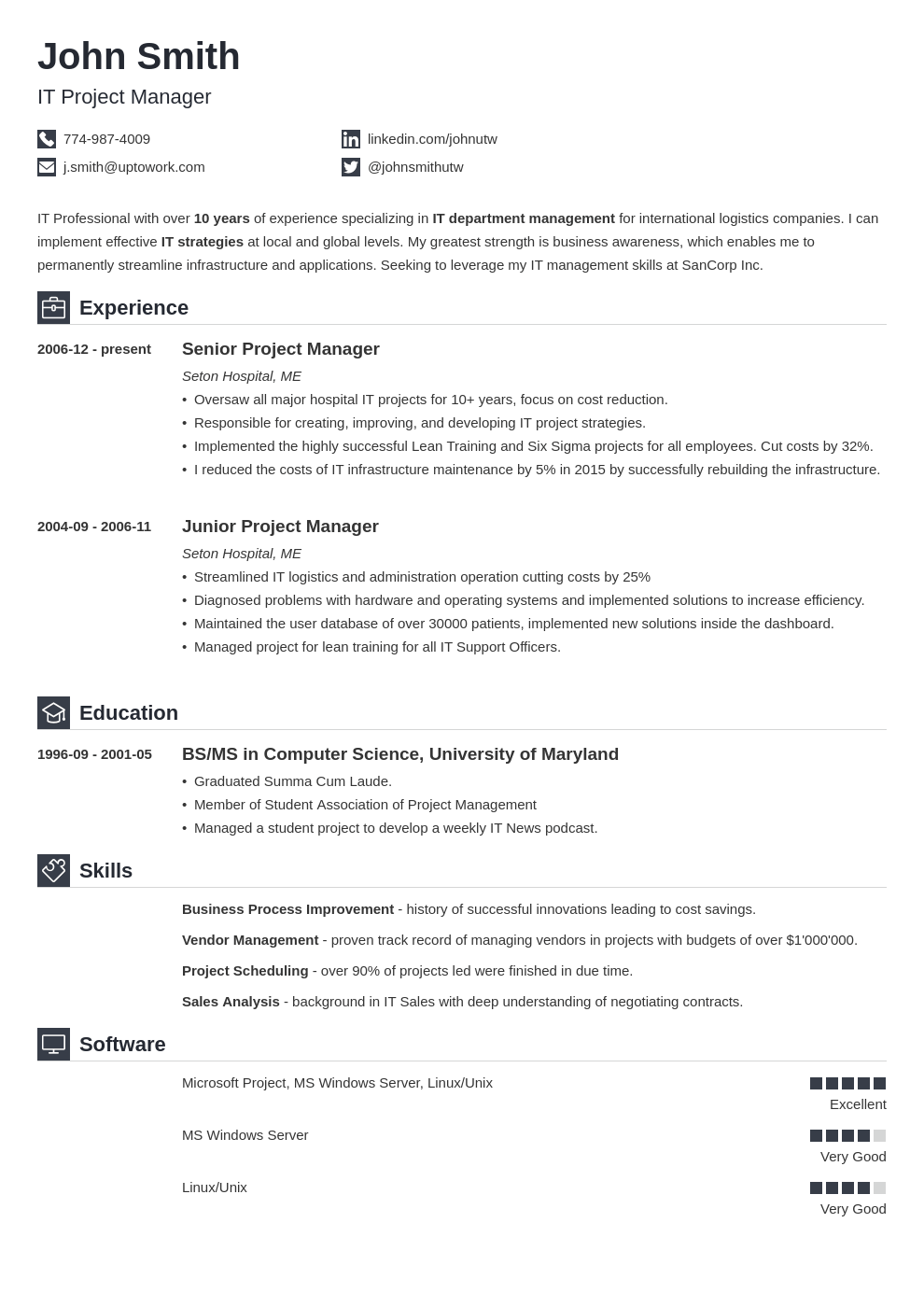 Cover Letter Template Uptowork